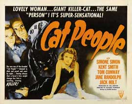 Cat People - 22 x 28 Movie Poster - Half Sheet Style B