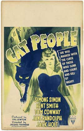 Cat People - 11 x 17 Movie Poster - Style D