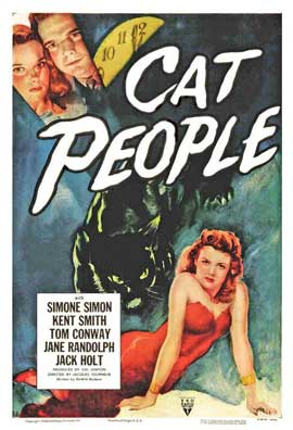Cat People - 11 x 17 Movie Poster - Style E