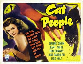 Cat People - 22 x 28 Movie Poster - Half Sheet Style A