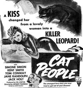 Cat People - 11 x 17 Movie Poster - Style H