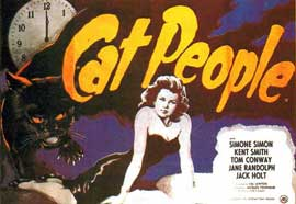 Cat People - 11 x 17 Movie Poster - Style J