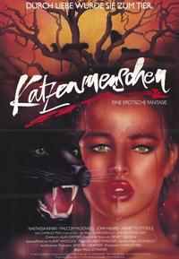 Cat People - 11 x 17 Movie Poster - German Style A
