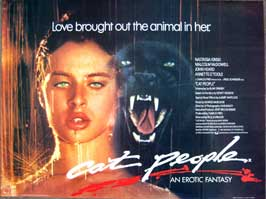 Cat People - 30 x 40 Movie Poster UK - Style A