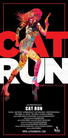 Cat Run - 20 x 40 Movie Poster - Style A