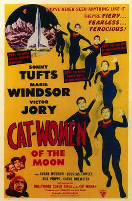Cat Women of the Moon - 11 x 17 Movie Poster - Style A