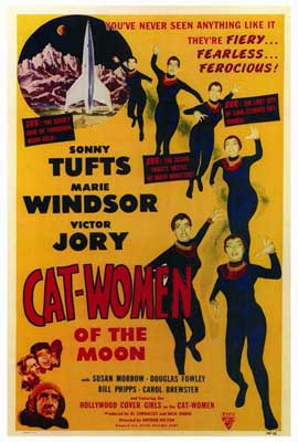 Cat Women of the Moon - 27 x 40 Movie Poster - Style A