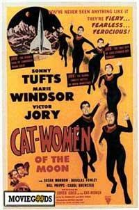 Cat Women of the Moon - 43 x 62 Movie Poster - Bus Shelter Style A