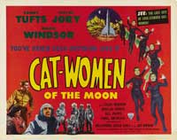 Cat Women of the Moon - 30 x 40 Movie Poster UK - Style A