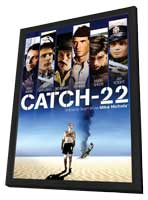 Catch 22 - 11 x 17 Movie Poster - Style B - in Deluxe Wood Frame