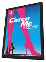 Catch Me If You Can (Broadway) - 14 x 22 Poster - Heavy Stock - in Deluxe Wood Frame