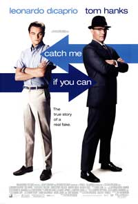 Catch Me If You Can - 43 x 62 Movie Poster - Bus Shelter Style B