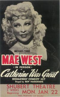 Catherine Was Great (Broadway) - 11 x 17 Poster - Style A