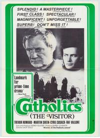 Catholics - 43 x 62 Movie Poster - Bus Shelter Style A