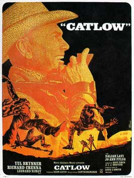 Catlow - 11 x 17 Movie Poster - French Style A