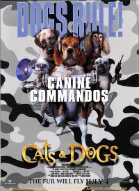 Cats & Dogs - 27 x 40 Movie Poster - Style B
