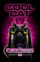 Cats & Dogs: The Revenge of Kitty Galore - 11 x 17 Movie Poster - Style D