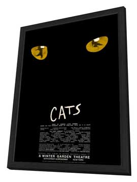 Cats (Broadway) - 27 x 40 Movie Poster - Style B - in Deluxe Wood Frame
