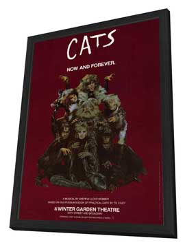 Cats (Broadway) - 27 x 40 Movie Poster - Style C - in Deluxe Wood Frame