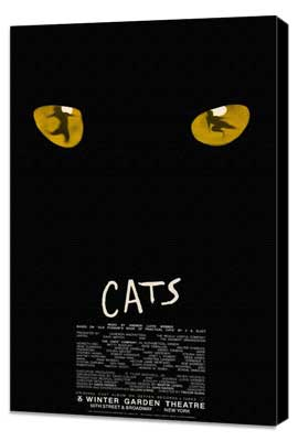 Cats (Broadway) - 11 x 17 Poster - Style A - Museum Wrapped Canvas