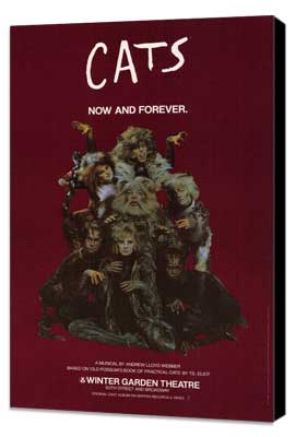 Cats (Broadway) - 11 x 17 Poster - Style B - Museum Wrapped Canvas