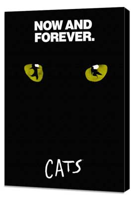 Cats (Broadway) - 11 x 17 Poster - Style D - Museum Wrapped Canvas