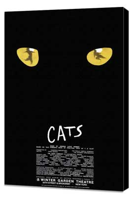 Cats (Broadway) - 27 x 40 Poster - Style A - Museum Wrapped Canvas