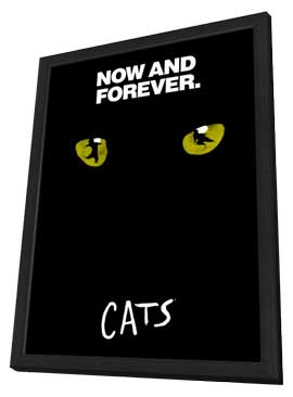 Cats (Broadway) - 11 x 17 Poster - Style D - in Deluxe Wood Frame