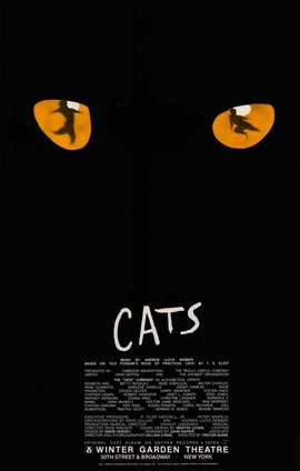 Cats (Broadway) - 27 x 40 Movie Poster