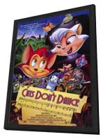Cats Don't Dance - 11 x 17 Movie Poster - Style A - in Deluxe Wood Frame