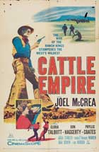 Cattle Empire - 11 x 17 Movie Poster - Style C