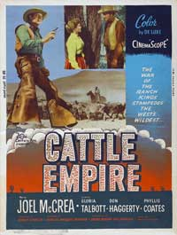 Cattle Empire - 27 x 40 Movie Poster - Style A