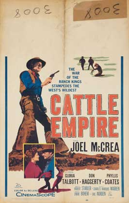 Cattle Empire - 27 x 40 Movie Poster - Style B