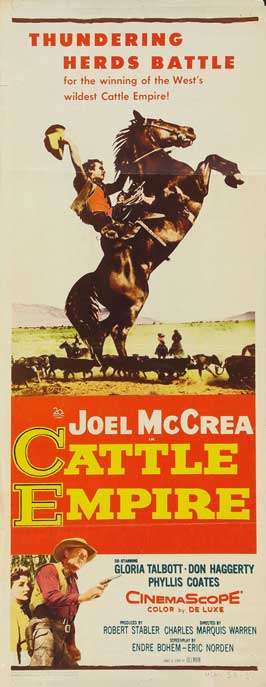 Cattle Empire - 14 x 36 Movie Poster - Insert Style A