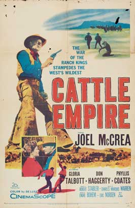 Cattle Empire - 27 x 40 Movie Poster - Style C