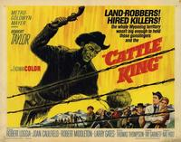 Cattle King - 22 x 28 Movie Poster - Half Sheet Style A