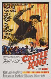 Cattle King - 11 x 17 Movie Poster - Style A