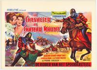 Cavalier in Devil's Castle - 11 x 17 Movie Poster - Belgian Style A