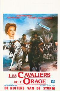 Cavaliers de l'orage, Les - 11 x 17 Movie Poster - Belgian Style A
