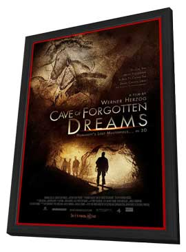 Cave of Forgotten Dreams - 11 x 17 Movie Poster - Style A - in Deluxe Wood Frame