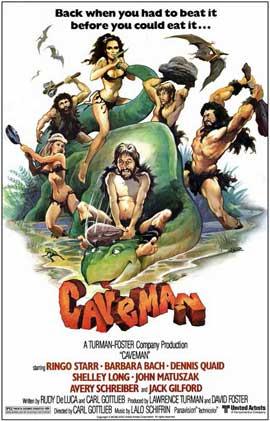 Caveman - 11 x 17 Movie Poster - Style B