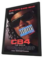 CB4: The Movie - 11 x 17 Movie Poster - Style A - in Deluxe Wood Frame