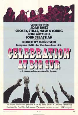 Celebration at Big Sur - 27 x 40 Movie Poster - Style A