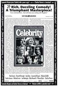 Celebrity - 27 x 40 Movie Poster - Style B