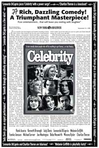 Celebrity - 43 x 62 Movie Poster - Bus Shelter Style A