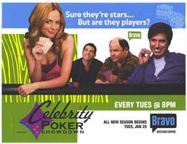 Celebrity Poker Showdown - 27 x 40 TV Poster - Style B