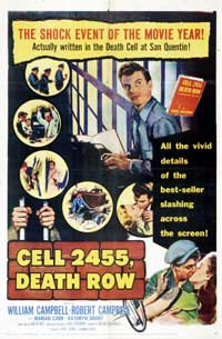 Cell 2455 Death Row - 43 x 62 Movie Poster - Bus Shelter Style A