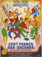 Cent francs par seconde - 11 x 17 Movie Poster - French Style A