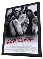Center Stage - 27 x 40 Movie Poster - Style A - in Deluxe Wood Frame