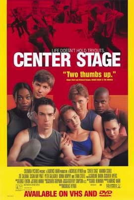 Center Stage - 11 x 17 Movie Poster - Style B